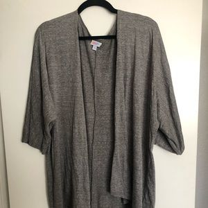 LuLaRoe Lindsay Heather Gray